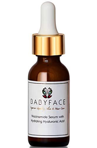Babyface Niacinamide Vitamin B3 Ex-Strength Serum, Anti-Aging & Hair Loss, 1.2 oz.