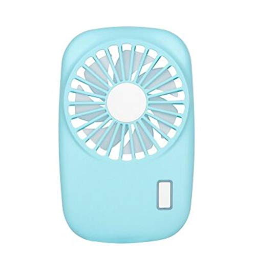 HNHT Mini Ultradunne Kleine Ventilator, Camera Creatieve Handheld Draagbare Stille USB Opladen Kleine Ventilator (C)