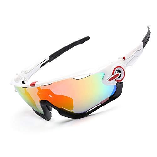 H-O Motorradbrille in Sehstärke Sonnenbrille Unisex Schutzbrille Beschlagfrei,Q