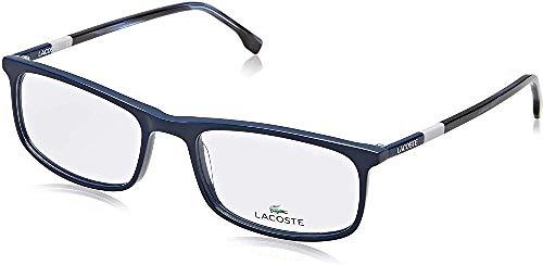 Lacoste Herren L2808 424 55 Brillengestelle, Blau (Blue)