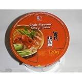 Kailo Sopa instantánea de fideos de cangrejo 12 x 120 gr 0.12 ml - Pack de 12