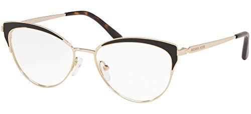 Michael Kors 0MK3031 Monturas de gafas, Lt Gold, 53 para Mujer