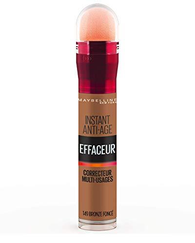 Maybelline New York - Anti-cernes/Correcteur Fluide - Instant Anti-Age L'Effaceur - 149 Bronze Foncé - 6,8 ml