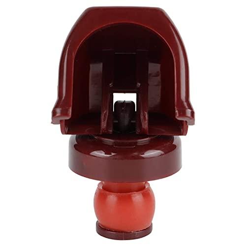 Tapón de botella de champán de vino 5 uds, Tapón de sellado de corcho, conservante de vino, accesorios para el hogar(rojo)