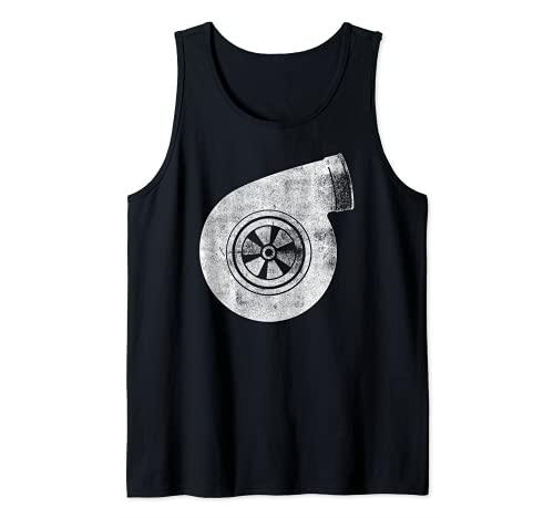 Turbo Turbine Turbina turbo Camiseta sin Mangas