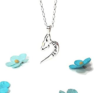 Doe Patronus Necklace After All This Time Always Deer Necklace Harry Potter Jewelry Harry Potter Jewellery Sterling Silver Necklace