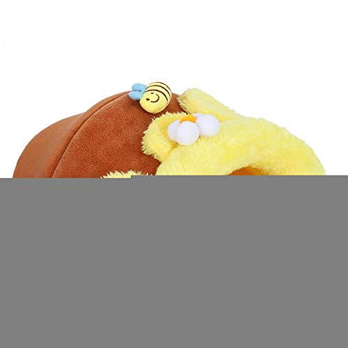 Nido para mascotas, almohadilla de algodón con forma de Honeypot, cama de algodón de cerdo holandés suave, cómoda para mascotas de ardilla(S code)