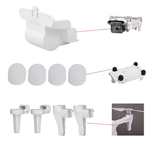Flycoo2 3 en 1 Kit para Xiaomi FIMI X8 SE Drone Tren de Aterrizaje + Capuchón de Motor + Cap Protección Accesorio, Color b