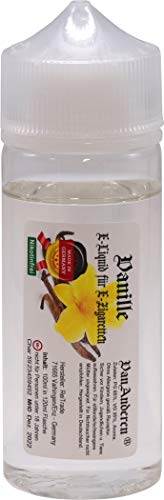100ml E Liquid in 120ml Chubby Flasche ohne Nikotin - PREMIUM Vanille