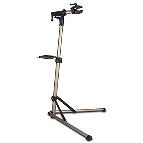 LSMK Soporte Bicicletas Soporte de Reparación de Bicicletas Profesional, Estante de Soportes para Bicicletas de Almacenamiento Interior Plegable/Estación de Trabajo Extensible para Mantenimiento