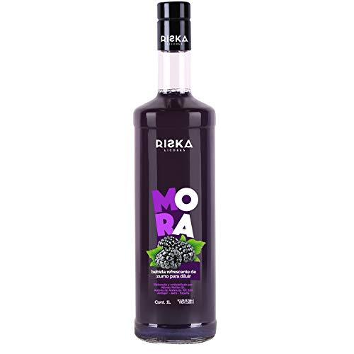 RISKA - Mora Licor sin alcohol 1 Litro