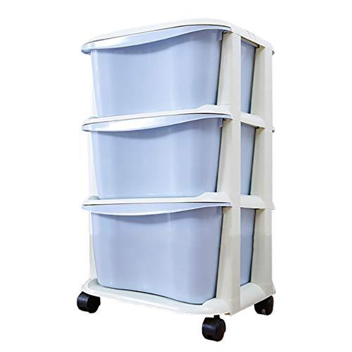 Lw Shelf 3/4/5 plank, 37 cm diameter voor keuken kruiwagen, opbergkast van kunststof voor keuken/badkamer
