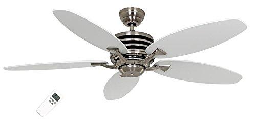 Plafondventilator, ECO GAMMA 137 WE-LG, vleugellak, wit/lichtgrijs