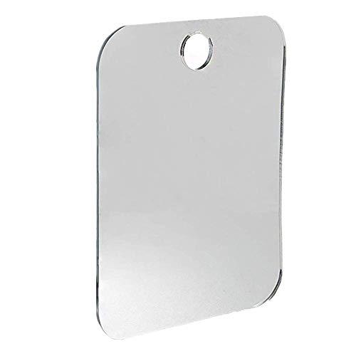 Vektenxi Beschlagfreier Reisespiegel - Beschlagfrei Bruchsicherer Duschspiegel - Tragbarer Duschspiegel zur Wandmontage Anti-Beschlag-Duschspiegel Badezimmer