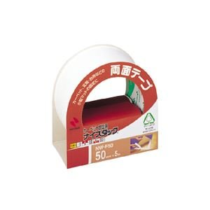 (まとめ) ニチバン ナイスタック(R) カーペット固定用 NW-F50 1巻入 【×10セット】 〈簡易梱包