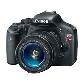 Canon EOS Rebel T2i DSLR Camera with EF-S 18-55mm f/3.5-5.6 IS Lens (OLD MODEL)