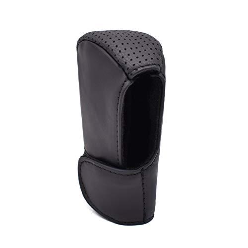 Auto Universal Leder Schalthebel Schaltknauf Knopf Abdeckung Kugelschalthebel Handbremse Kissen Gear Shift Knob Cover