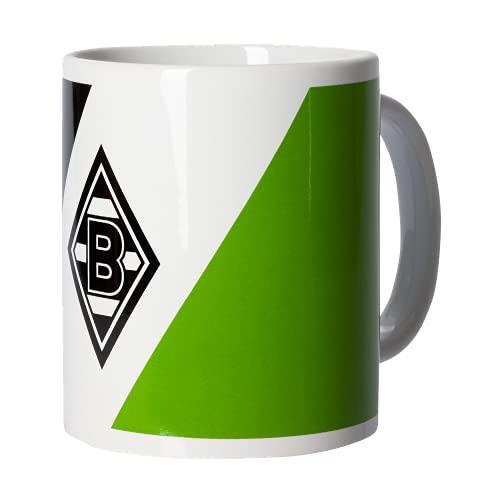 Borussia Mönchengladbach Tasse Becher Kaffeetasse SCHRÄGSTREIFEN 2021/2022, 214125