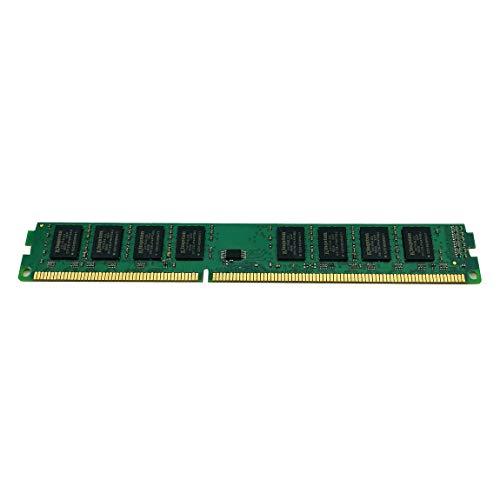 73JohnPol Memoria de Escritorio DDR3 Ram 1600MHz 240 Pines 2G / 4GB / 8GB Memoria de PC Memoria RAM Computadora de Escritorio y (Color: Verde)
