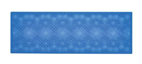 CREARTEC - universele decoratiemat/sjabloon - kant - voor het maken van gedetailleerde, sierlijke motieven met bijv. paperpasta of zeep - 390 x 70 mm - Made in Germany