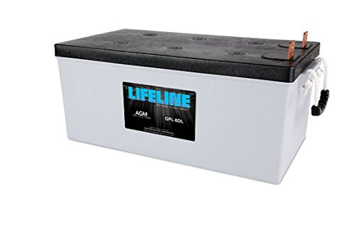 Marine Lifeline AGM Battery - GPL-8DL