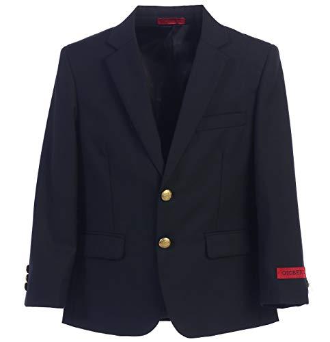 Gioberti Big Boys Formal Navy Blazer Jacket, Size 8