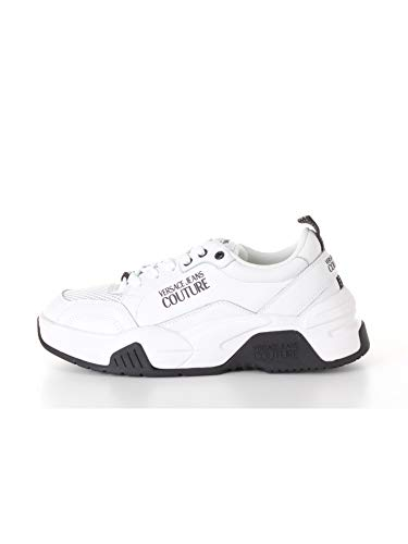 VERSACE JEANS COUTURE Sneakers Uomo (Bianco, Numeric_40)