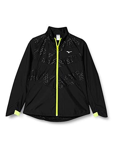 (ミズノ) MIZUNO トレーニングウェア ウィンドブレーカーシャツ [レディース] 32ME7210 09 ブラック M