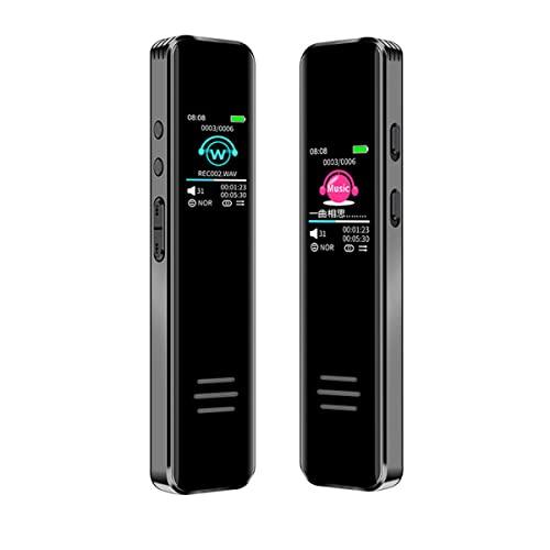 JeeKoudy Grabadora De Voz Digital Profesional, Dispositivo De Grabación De Audio Estéreo HD De Largo Tiempo De Grabación De Voz Activada Dictaphone USB Drive para Conferencias/Reuniones/Clase