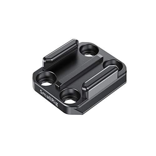 SMALLRIG Aluminium Schnallen Adapter Buckle Mount mit Integrierter Schnellwechselplatte Kompatibel mit Go Pro Kameras - APU2668
