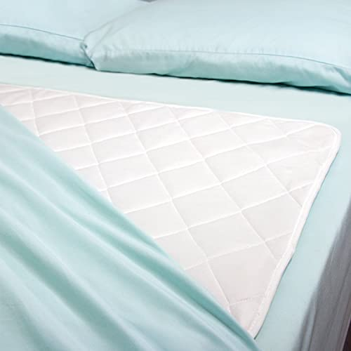DMI Incontinence Reusable Bed Pad, Washable and...