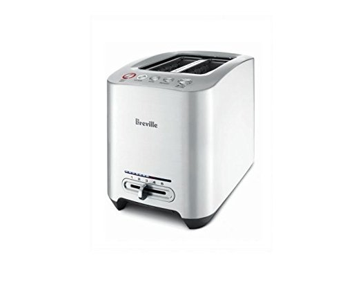 Breville BTA820XL Die-Cast 2-Slice Smart Toaster (Renewed)