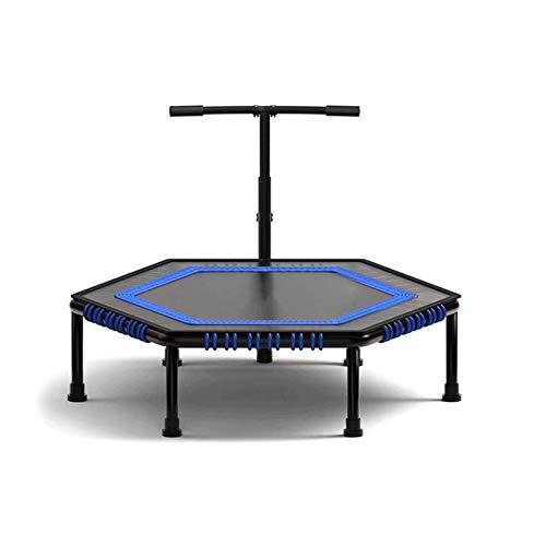 Z-Color Mini Fitness trampolín, Seguro silencioso instalación fácil Ejercicio Interior trampolín for Adultos niños (Size : 45 Inches)