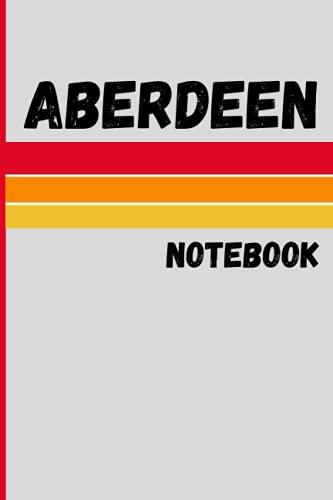 ABERDEEN city Vintage Style for Gift: RIVERTON Notebook Journal Gift;Vintage Retro Design...