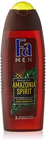 FA MEN 2in1 Duschgel Brazilian Vibes Amazonia Spirit mit Tonka-Extrakt und würzig-frischem Duft, 1er Pack (1 x 250 ml)