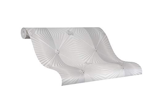 Tapete Pearl Grafisch - Kollektion Glööckler Imperial von marburg - für Schlafzimmer, Wohnzimmer oder Küche - Made in Germany - 10,05m x 0,70m