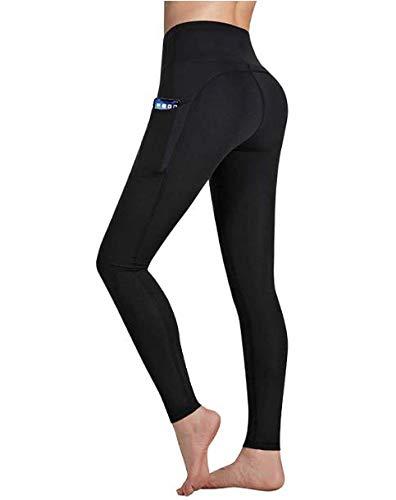 Occffy Leggings Fitness Donna Allenamento Opaco Vita Alta Spandex Palestra Pantaloni DS166
