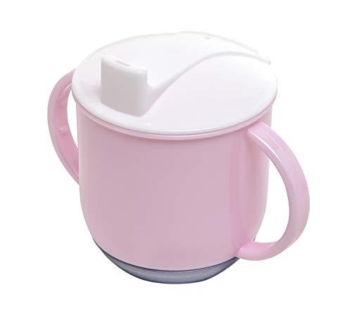 Rotho Babydesign Schaukeltasse, Ab 6 Monaten, Modern Feeding, 10,5x12cm, Tender Rosé Pearl/Weiß/Perlsilber, 30024026301