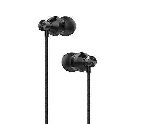 ME-10 Earphones, Noise Isolating In-Ear [Black] Wired Headphones with Strong Bass for ROKiT IO 3D Smartphone/Pro 3D Tangle-Free Cord, Lightweight, Soft Earbud Tips, by Sweet Tech