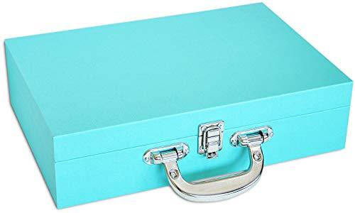 Porta-Joias Grande Duplo (Tiffany Blue)