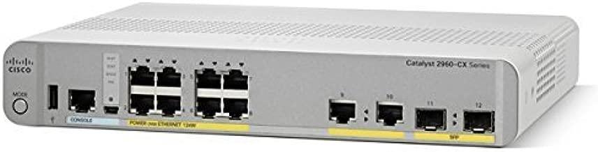 Cisco Catalyst 2960CX-8PC-L - Switch - 8 Ports - Desktop, Rack-mountable (WS-C2960CX-8PC-L)