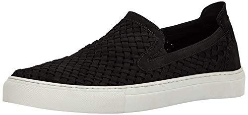 Donald J Pliner Men's Clark-ks Sneaker, Black Kid Suede, 8.5 M US