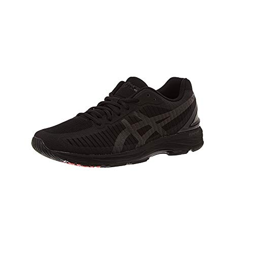 ASICS Gel-DS Trainer 23, Scarpe Running Uomo, Nero (Black/Black/Flash Coral 9090), 39.5 EU