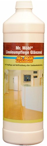 Mr.Möbi® Linoleum Pflege Glänzend - 1 Ltr.