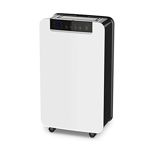 LKNJLL Home Dehumidifier 40 Pints for Basements with Drain Hose for Space Up to 2000 Sq Ft