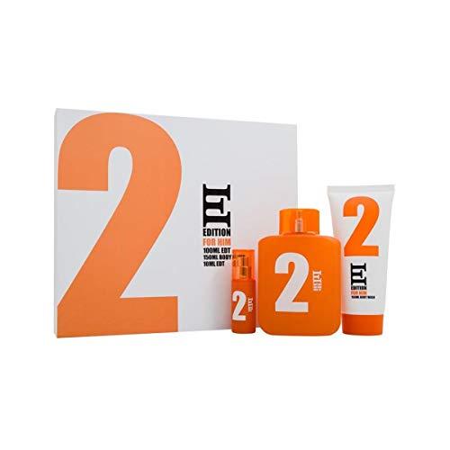 Scie sauteuse ESL 2 Edition 100 ml Eau de toilette 50 ml + Eau de Toilette 10 ml et 150 ml pour le corps Ensemble cadeau pour lui 100 ml