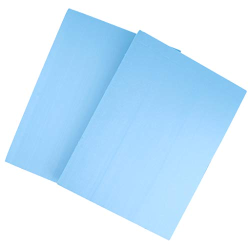 MagiDeal 2pcs PVC Hartschaumplatte Schaumplatte Bastelplatte, versch Größen - 29.5x39.5x2cm