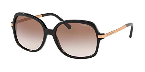 These Michael Kors™ sunglasses will add some mystique and flair to your look! Plastic frames and temples. Hardware logo embellishment at temples. Gradient lenses provide UV protection. Protective case. Imported. WARNING California's Proposition 65 Me...