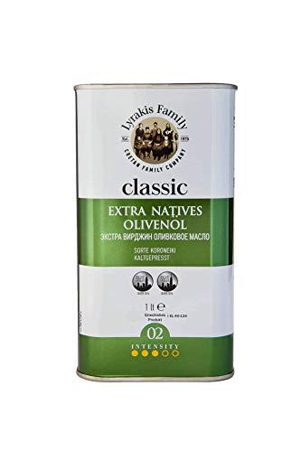 Lyrakis Family Kreta Extra Natives Olivenöl classic, kaltgepresst, 1 Liter