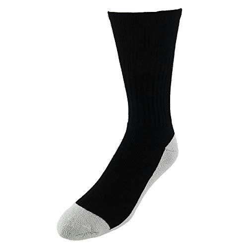 Pro Feet Health Lot de 3 paires de chaussettes Noir/naturel Taille M